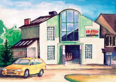budynek, drukarnia ES-GRAF