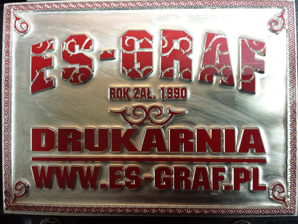 matryca, patryca Drukarnia ES-GRAF
